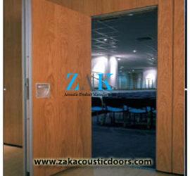Acoustic Door Steel Wooden Fire Door Manufacturer Supplier India